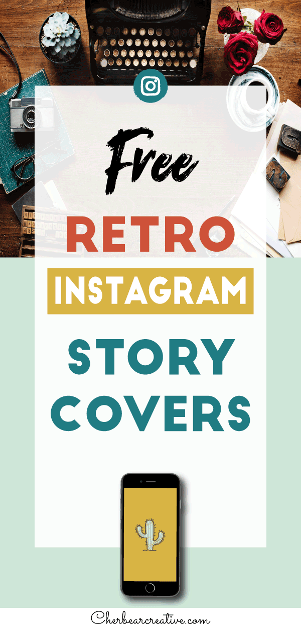 Free Retro Instagram Story Highlight Icons