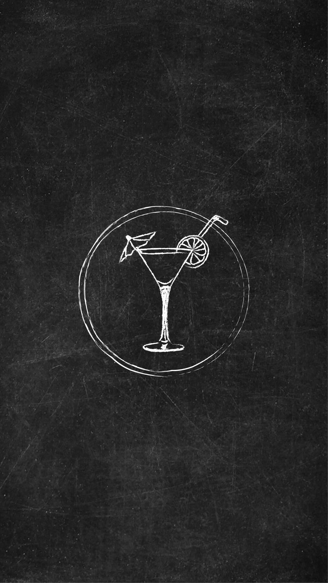 Instagram Story Icon Cocktail