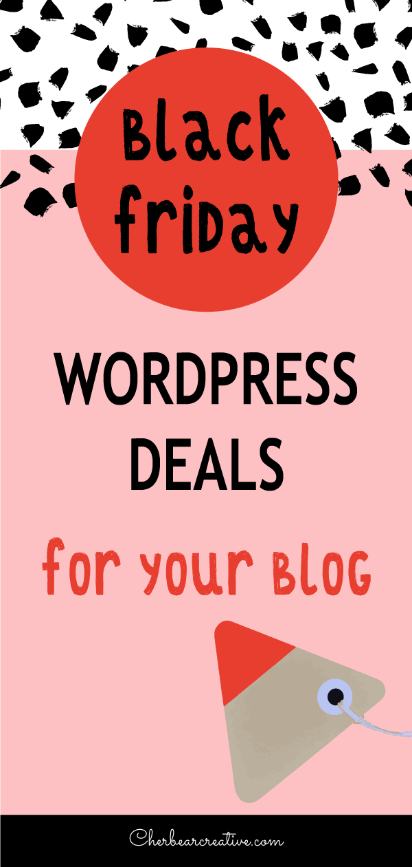 Black Friday WordPress Deals for Your Blog