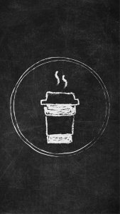 Free Chalkboard Instagram Story Highlight Covers - Coffee Cup