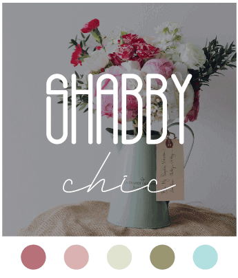 Shabby Chic Color Scheme Image