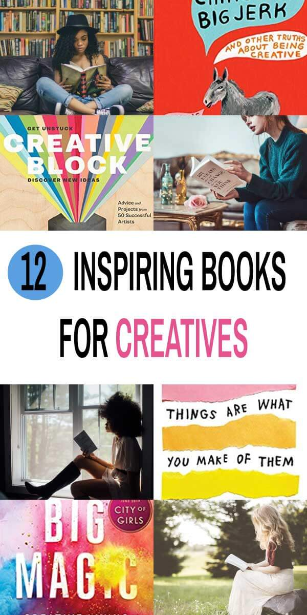 12 Inspiring Books for Creatives