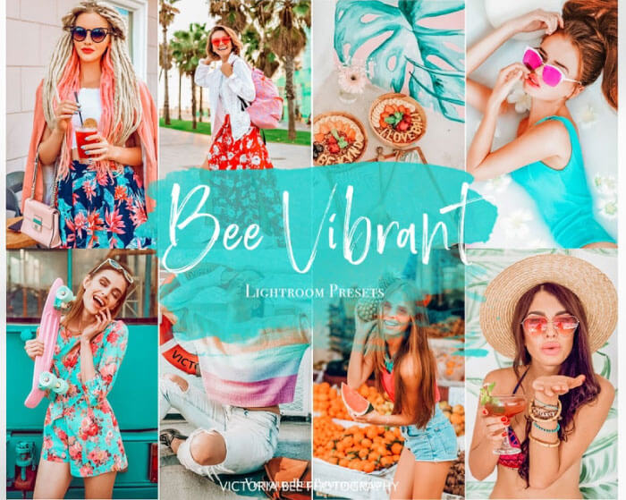 Bee Vibrant Colorful Presets