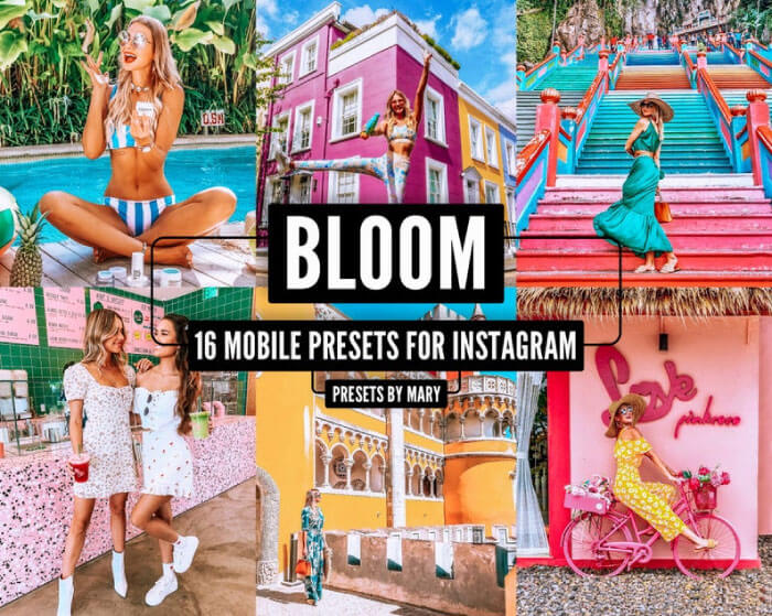 Bloom Colorful Presets