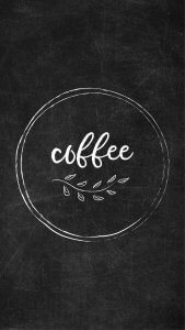 Free Chalkboard Instagram Highlight Covers - Coffee