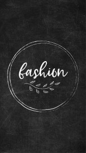 Free Chalkboard Instagram Highlight Covers - Fashion