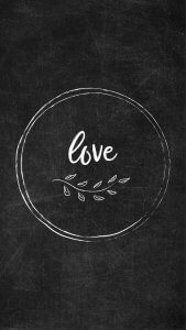 Free Chalkboard Instagram Highlight Covers - Love