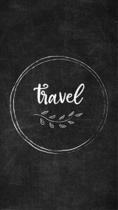 Free Chalkboard Instagram Highlight Covers - Travel