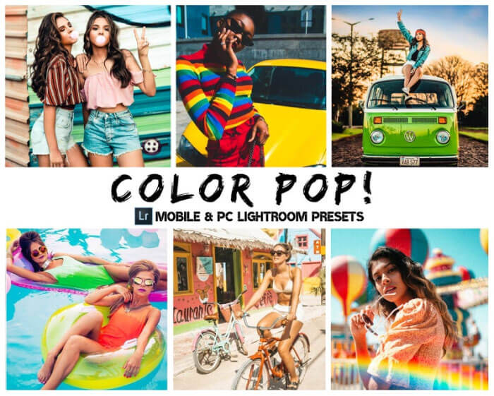 Color Pop Presets