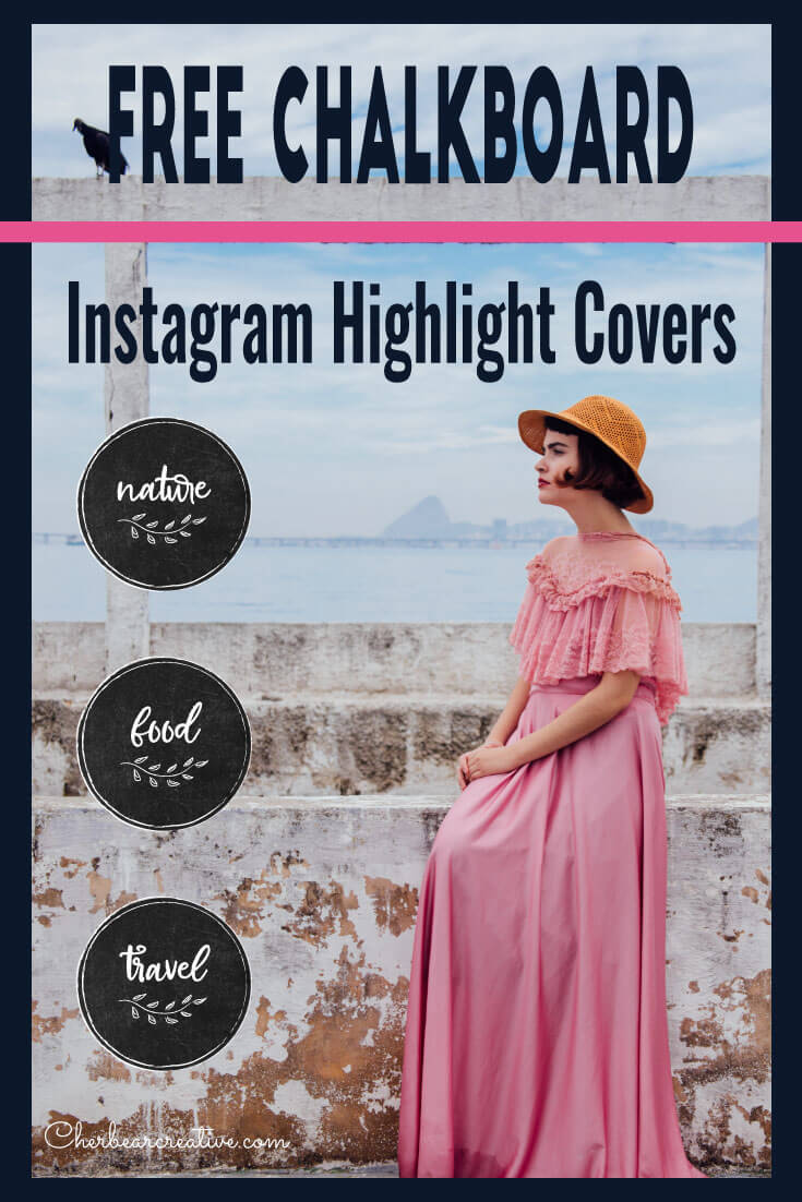 Free Chalkboard Instagram Highlight Covers