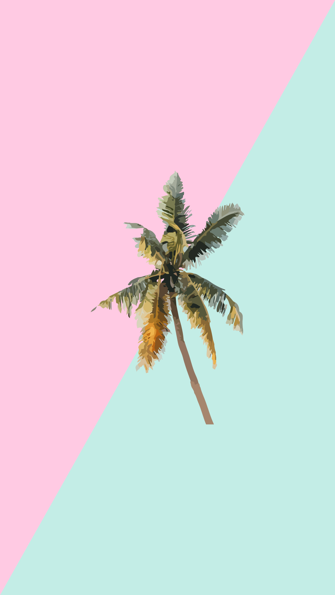 Free Candy Minimal Instagram Highlight Icons - Palm Tree