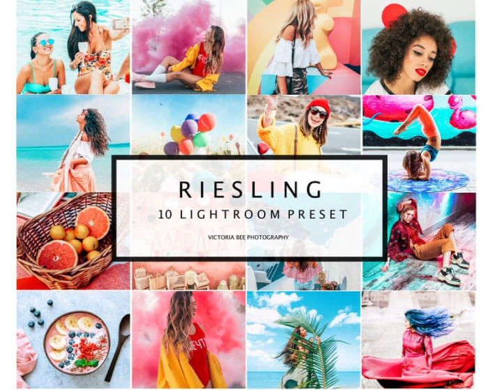 Riesling Color Presets