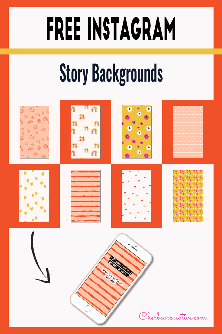 Free Instagram Story Background Templates