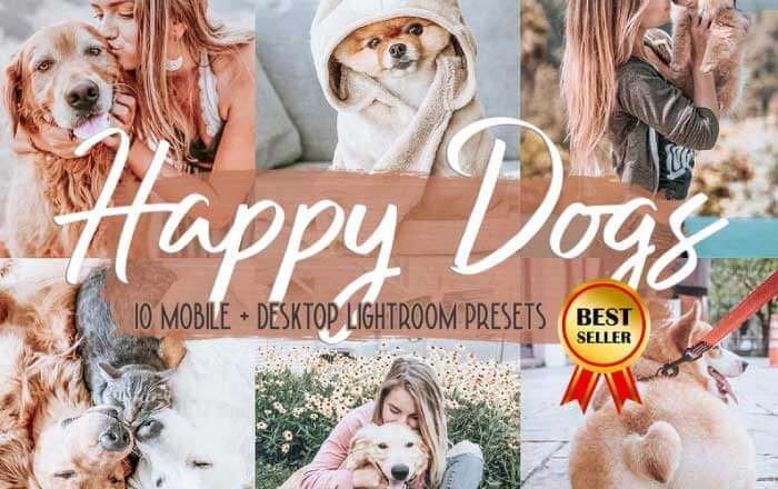 Happy Dogs: Pet Photography Presets