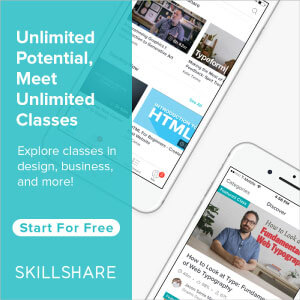 Free Trial of Skillshare