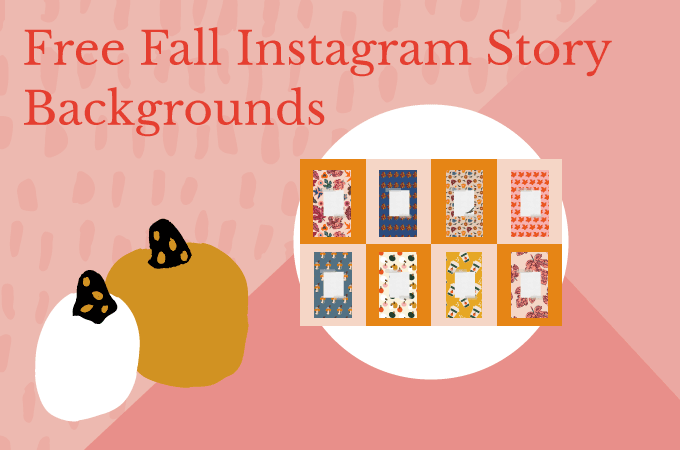 Free Fall Instagram Story Backgrounds