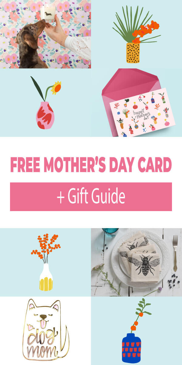 Free Mother's Day Card and Gift Guide