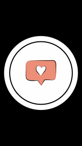 Free Beauty Instagram Story Highlight Icon - Like Heart