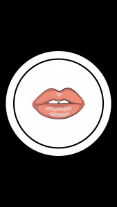 Free Beauty Instagram Story Highlight Icon - Lips
