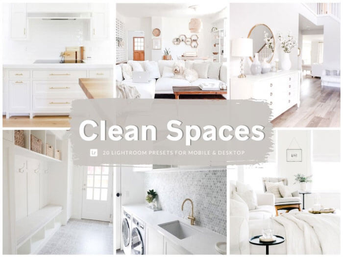 Clean Spaces Real Estate Presets