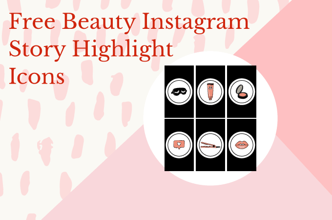 Free Beauty Instagram Story Highlight Icons