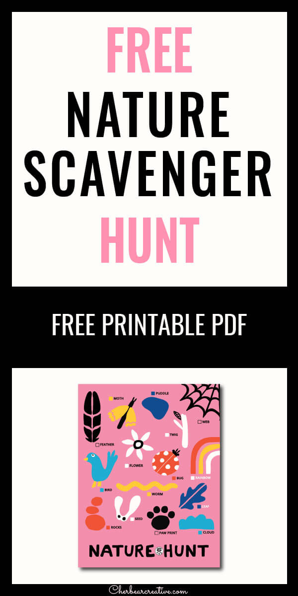 Free Nature Scavenger Hunt
