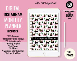 Instagram Digital Planner