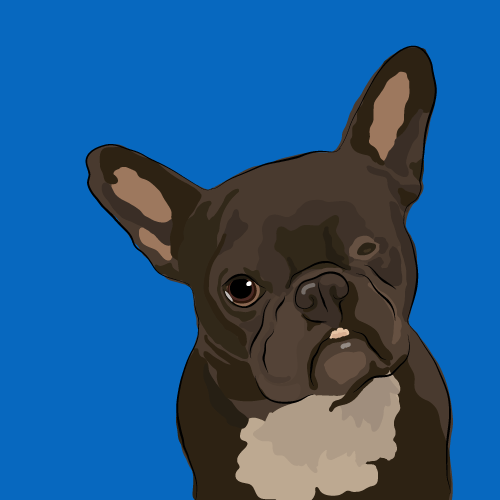 Dog Portrait by Cherbear Creative Studio