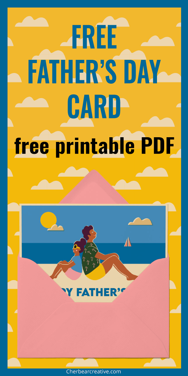 Free Fathers Day Card Printable