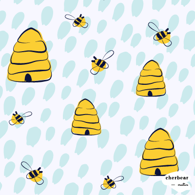 Beehive Surface Pattern Design