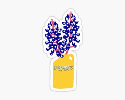 Bluebonnets Sticker