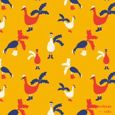 Chickens Pattern