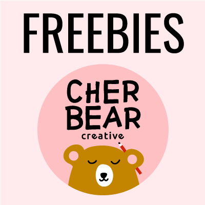 Graphic Design Freebies - Cherbear Creative