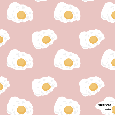 Fried Egg Pattern Design