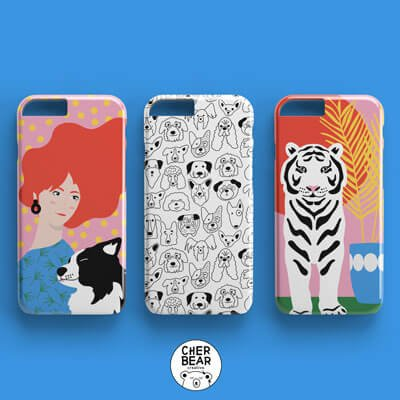 Phone Case Collection - Cherbear Creative