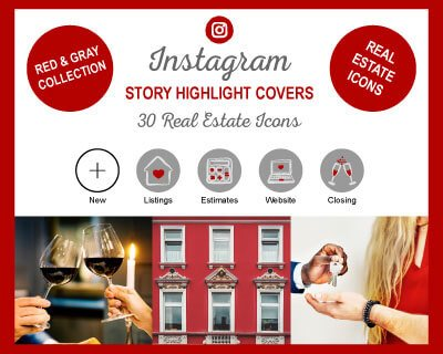 Real Estate Instagram Highlight Covers